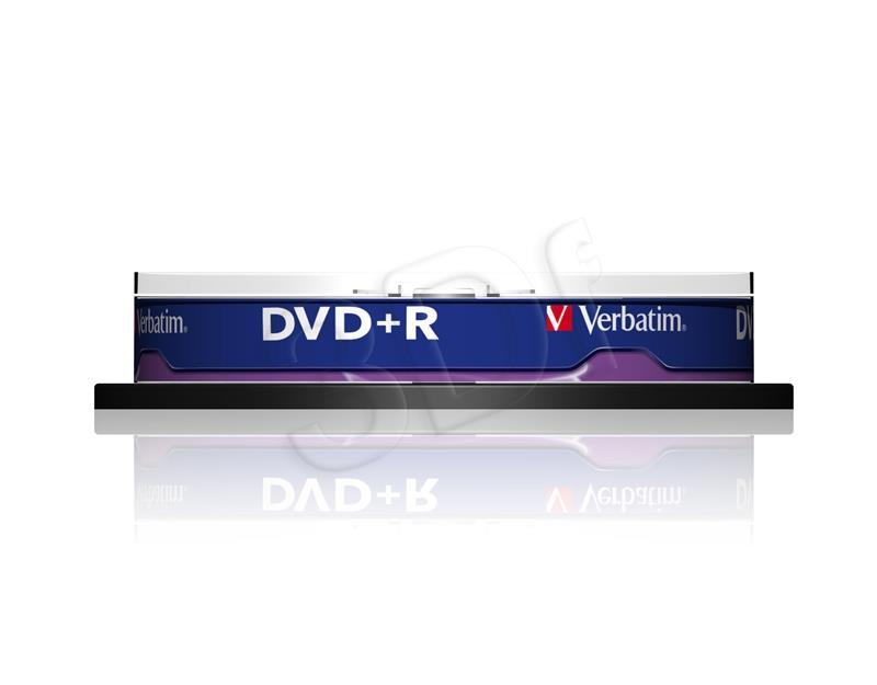 Verbatim DVD+R 4.7GB 16X 10pack matricas