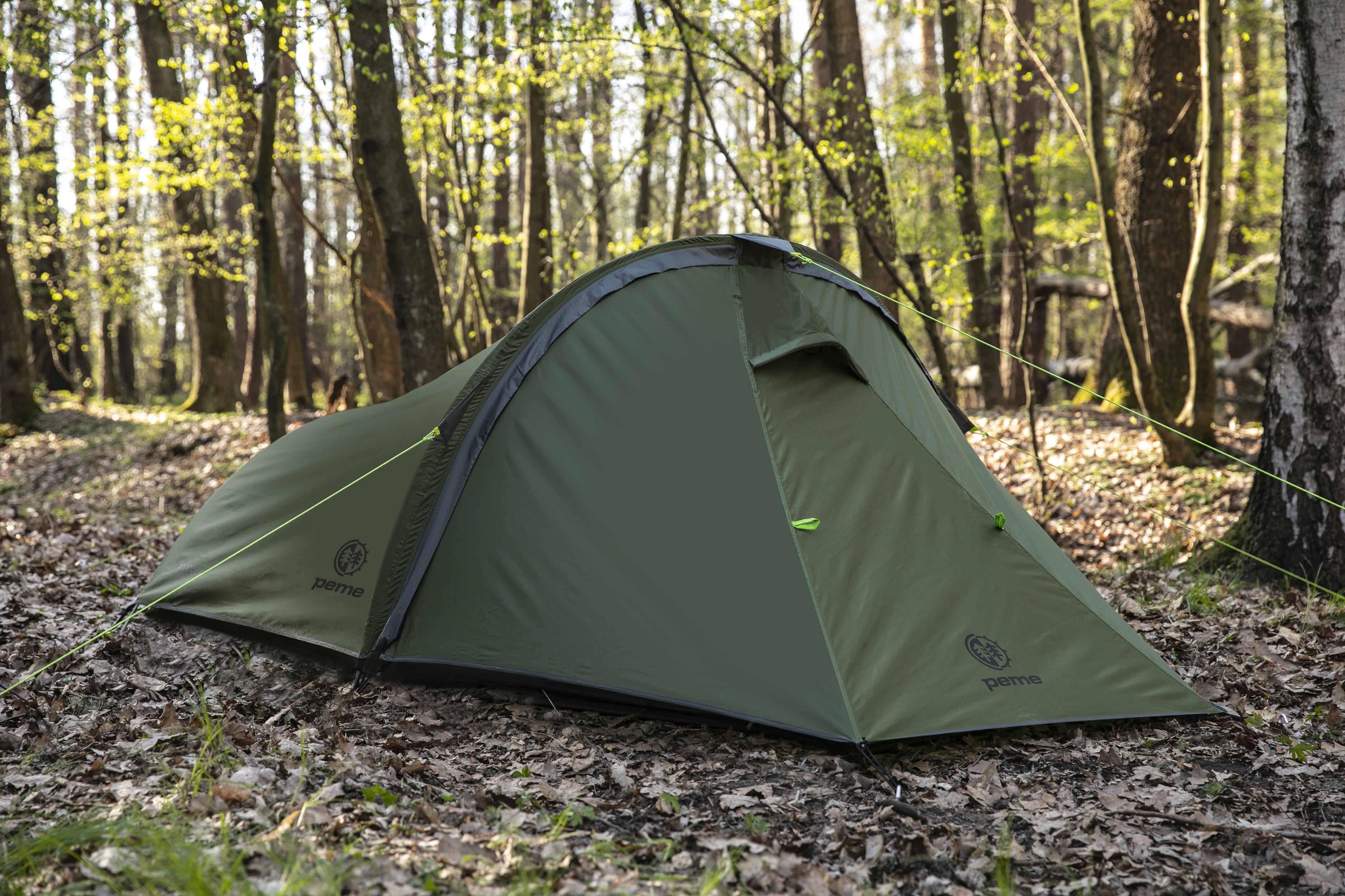 Peme Forest 2 tourist tent telts Kempingiem, pārgājieniem