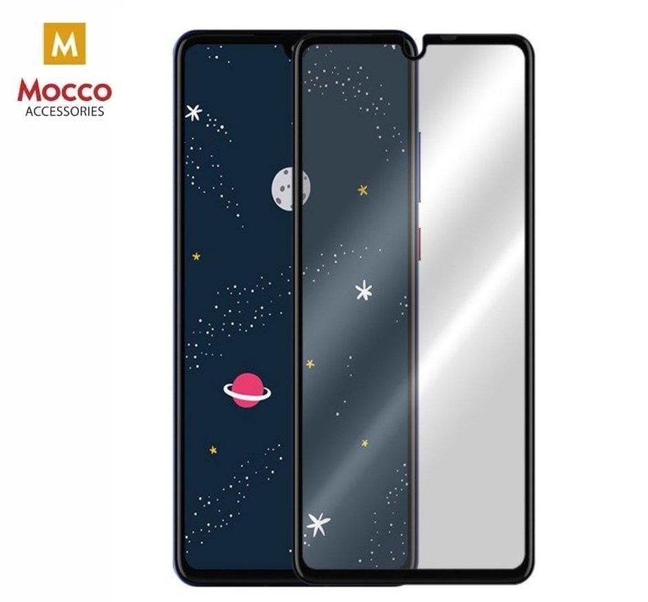 Mocco Full Glue 5D Tempered Glass Aizsargstikls Pilnam Ekrānam Huawei P30 Lite Melns aizsardzība ekrānam mobilajiem telefoniem