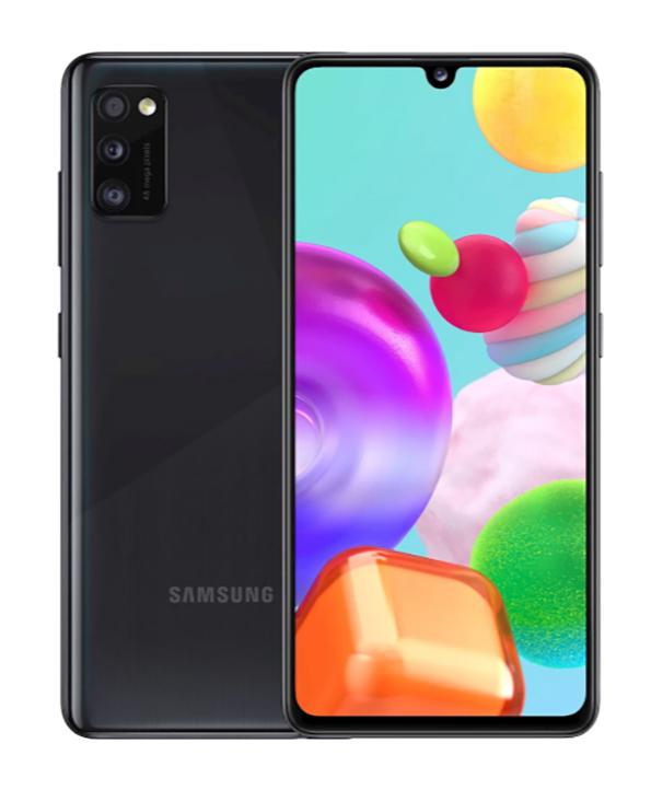 Samsung Galaxy A41 4GB/64GB Black Mobilais Telefons