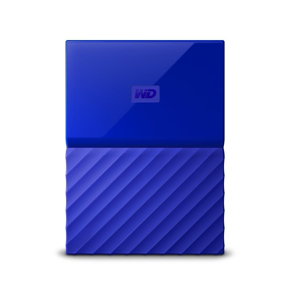 WD My Passport 2TB portable Blue Thin Ārējais cietais disks