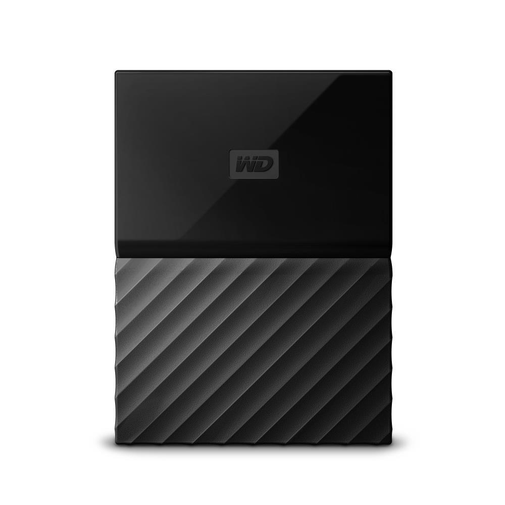 WD My Passport 2TB portable Black Thin Ārējais cietais disks
