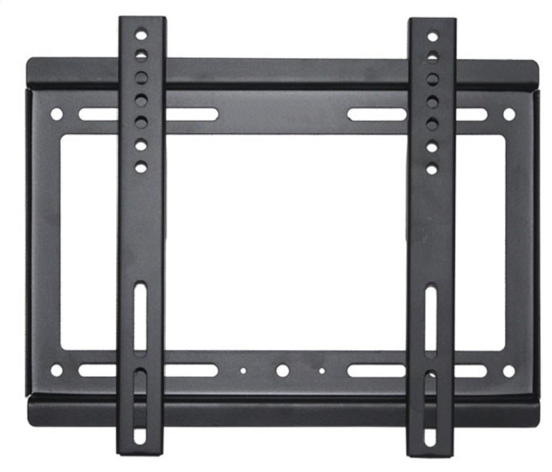 Omega OUTV200B27 Universāls LCD / LED 14' - 42' TV Sienas stiprinājums Fiksēts Vesa 100 200 (25kg max) TV stiprinājums
