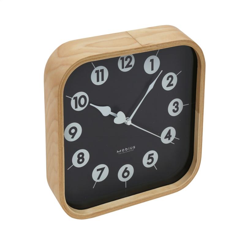 Platinet PZMBC Morning Sienas pulkstenis Melns Rokas pulksteņi
