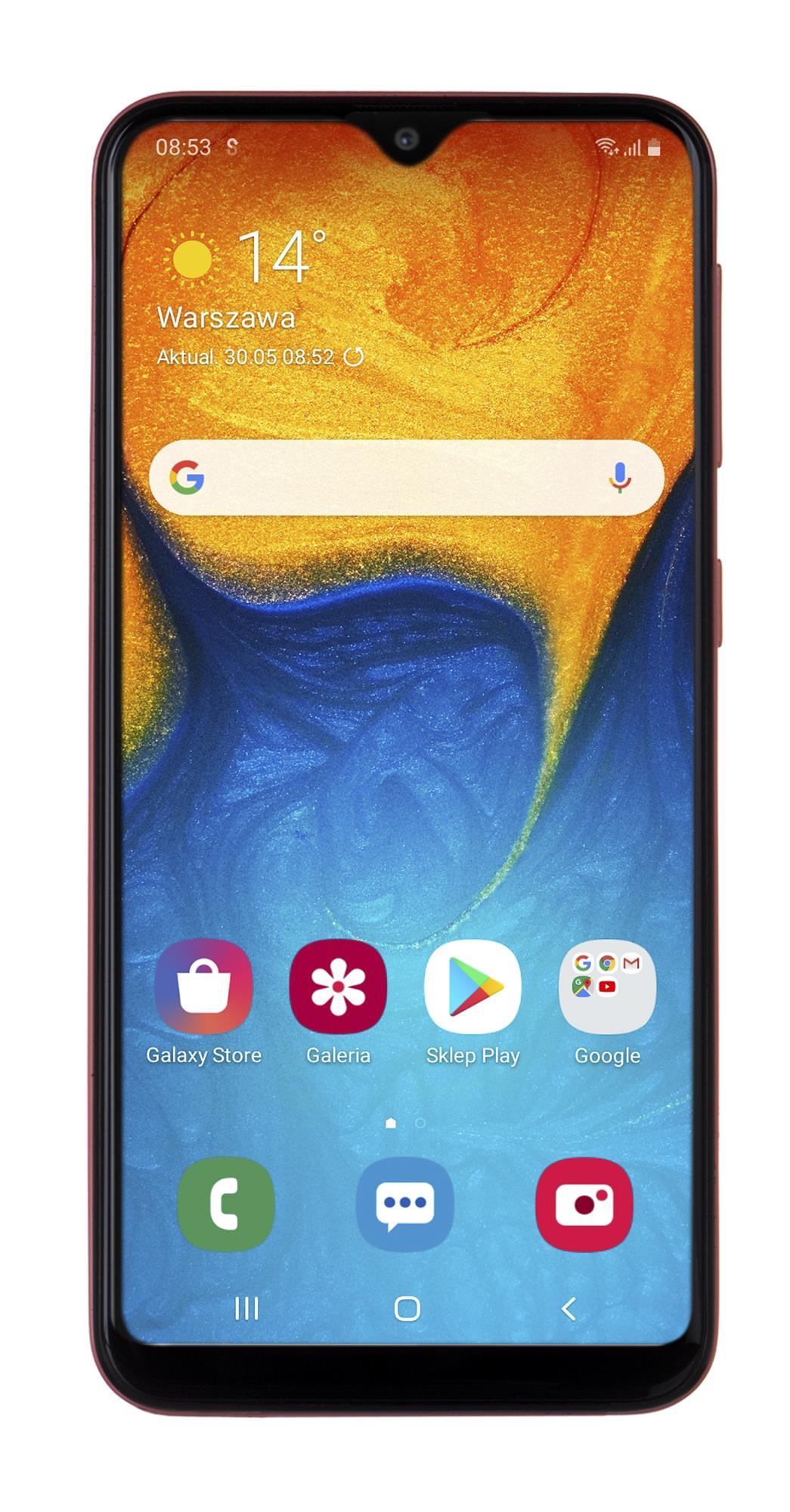 Samsung Galaxy A20e 3GB/32GB Orange Coral Mobilais Telefons