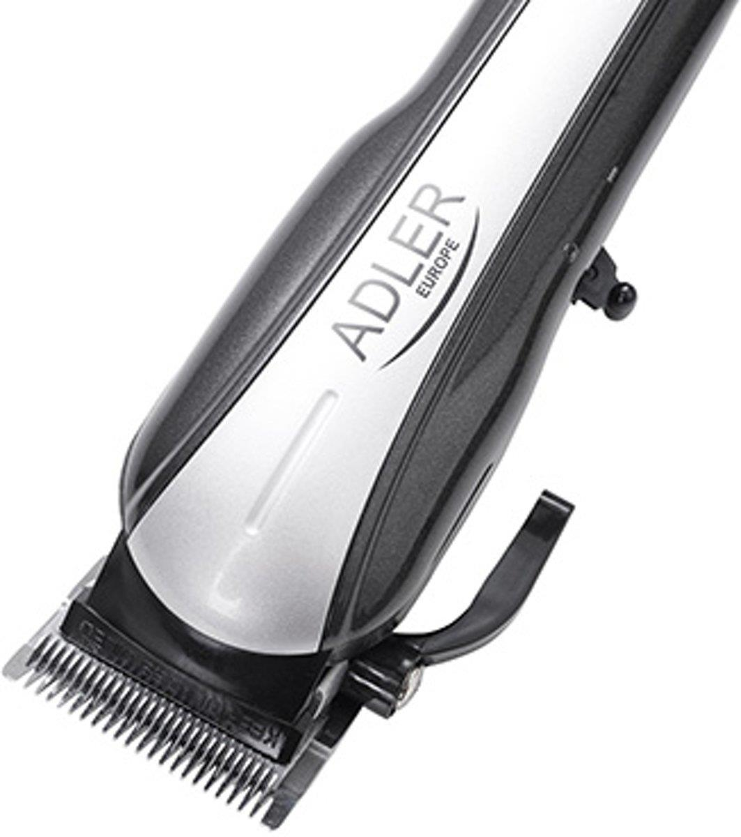 Adler AD 2828 hair trimmers/clipper Black, Grey