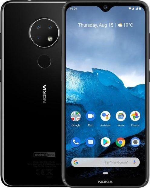 Nokia 6.2 4GB/64GB Black Mobilais Telefons