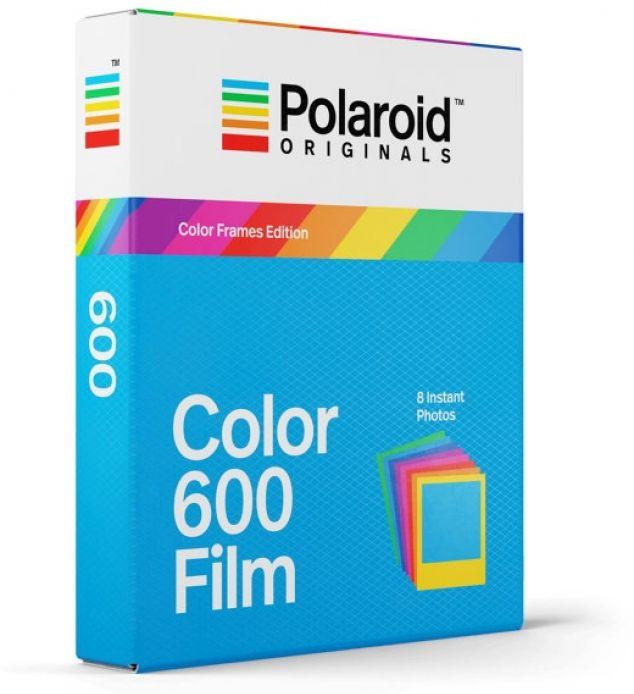 Polaroid ORIGINALS COLOR FILM 600 COLOR FRAME (9120066087751) foto papīrs