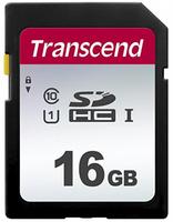 Transcend SDHC 300S         16GB Class 10 UHS-I U1 atmiņas karte