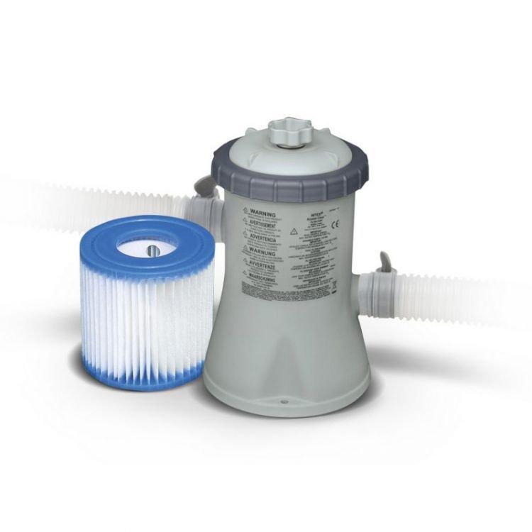 Intex 1250 Ūdens sūknis ar filtru 220-240V  / 1250 l/h Baseins