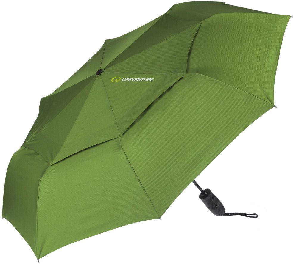 Lifeventure Parasol turystyczny Trek Umbrella M green r. uniwersalny 5031863680134 Lietussargs