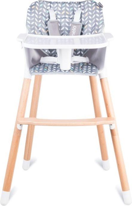 Lionelo Koen Highchair Gray / Yellow bērnu barošanas krēsls