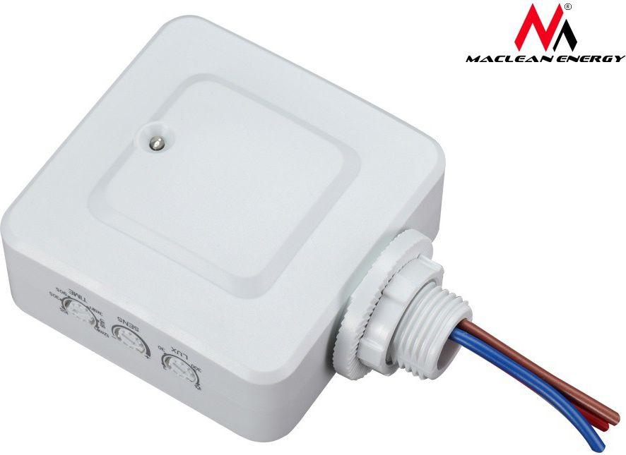 Maclean Built-in microwave motion sensor MCE137, 1200W range 4m-10m (MCE137)