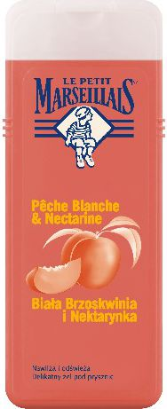 Le Petit Marseillais Shower gel white peach-nectarine 400 ml
