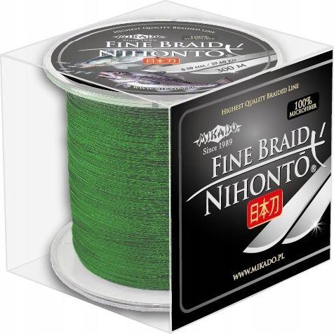 Mikado Braid Nihonto Fine Braid 0.20mm 300m Green (Z20G-020)