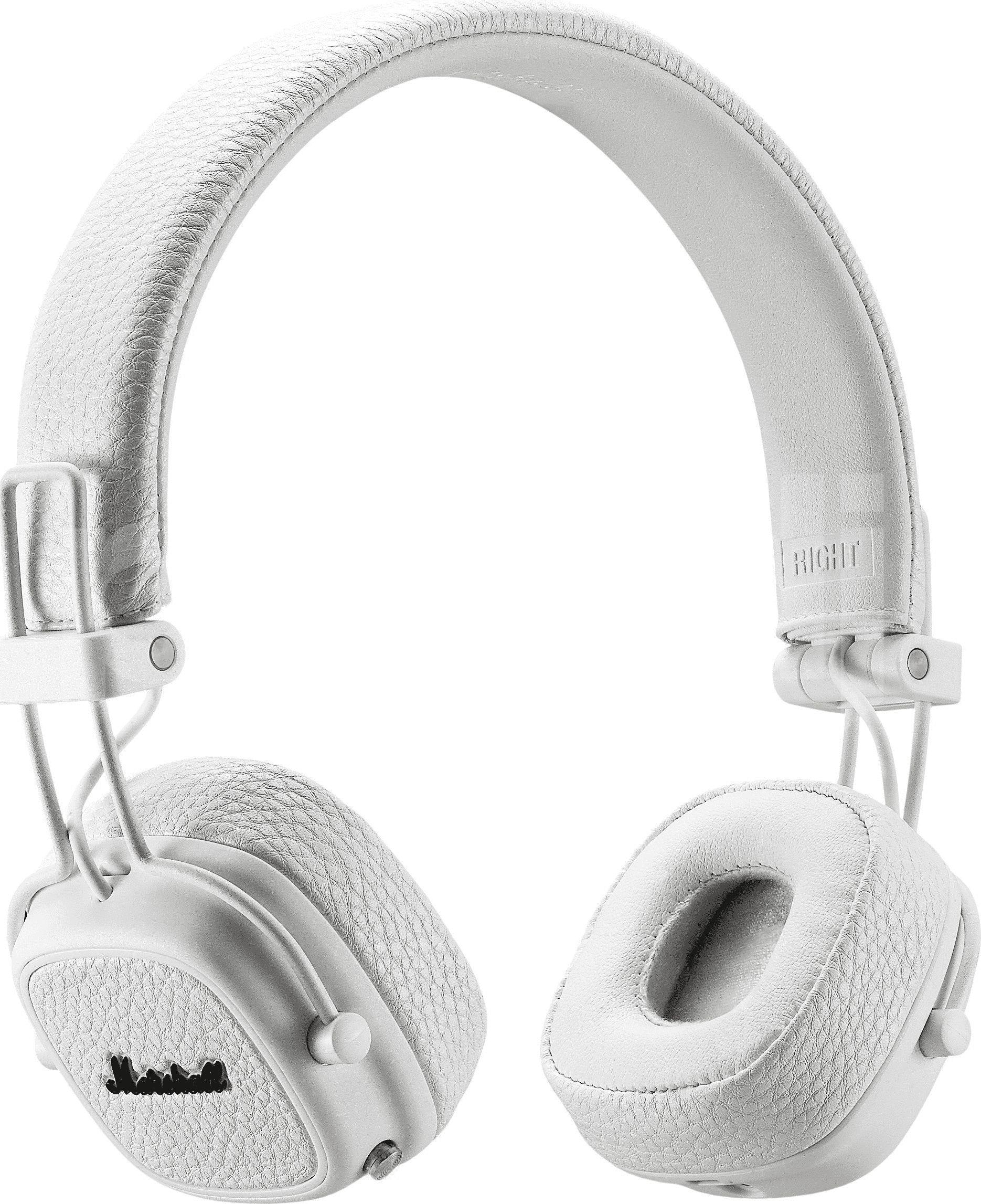 Marshall Major III BT Bluetooth White austiņas