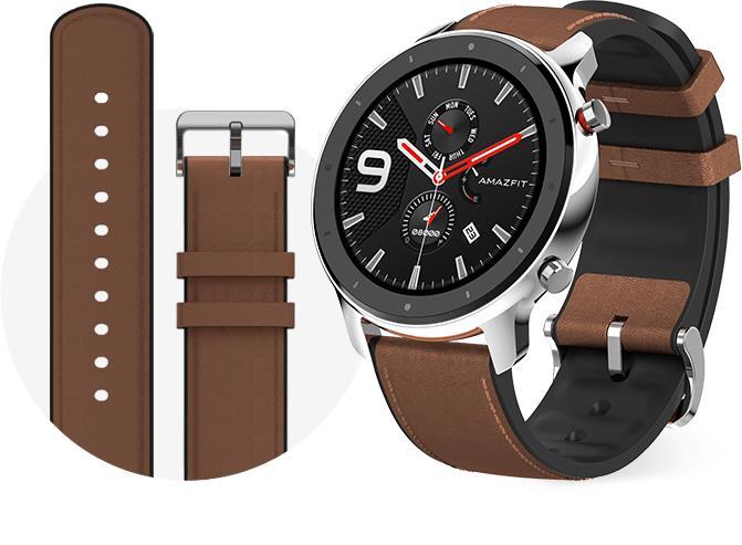 Xiaomi Amazfit GTR 47mm stainless steel Viedais pulkstenis, smartwatch