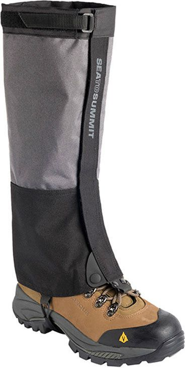 SEA TO SUMMIT Overland Gaiters Gaiters color gray-black, size L (ARG) darba apavi