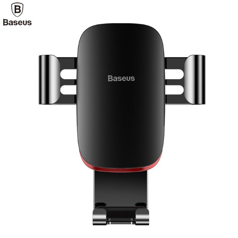 Gravity mount Baseus for car grille (black) Mobilo telefonu turētāji