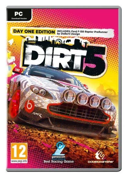 Game PC DIRT 5 spēle