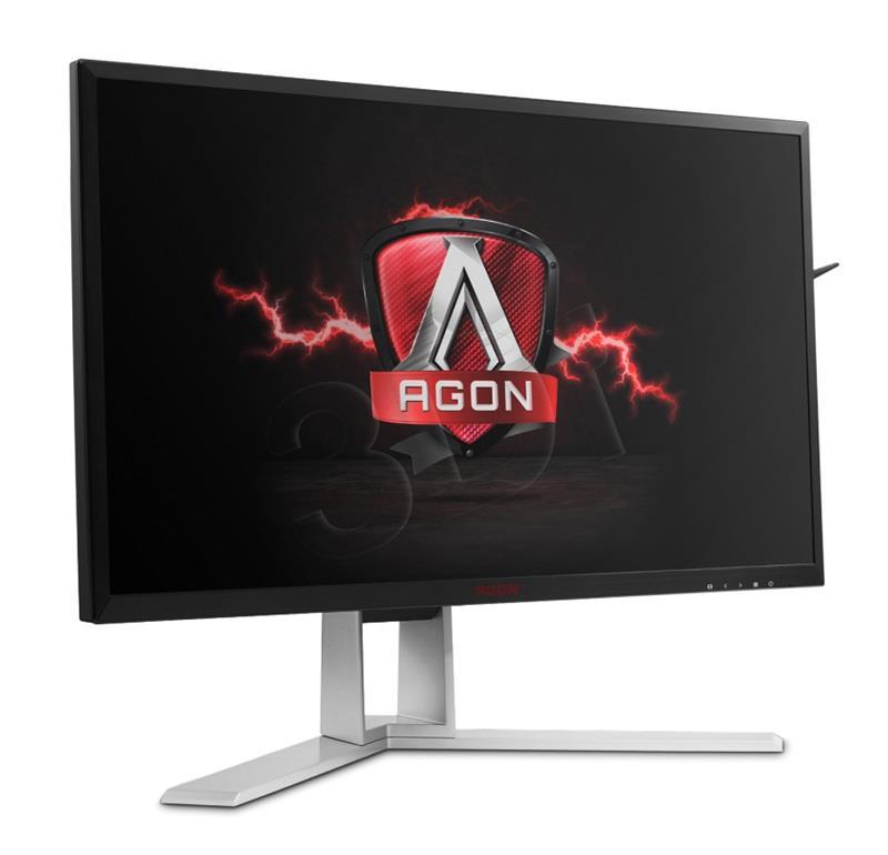 AOC AGON AG241QX, panel IPS, HDMI, DP monitors