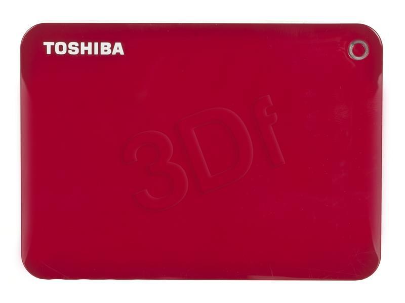 Toshiba Canvio Connect II  2.5; 2TB USB 3.0 Red Ārējais cietais disks