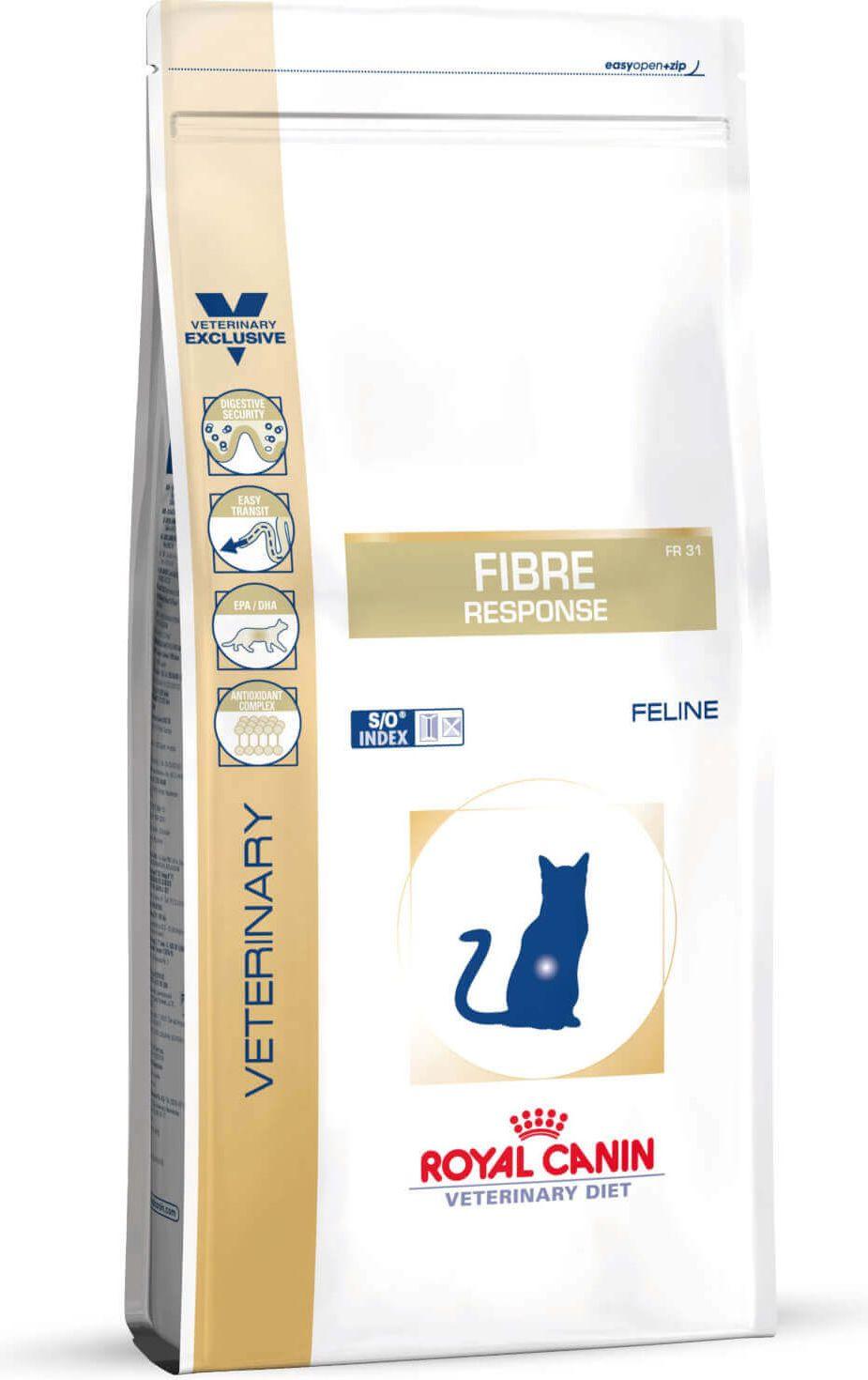 Royal Canin Fibre Response Cat 0.4kg kaķu barība