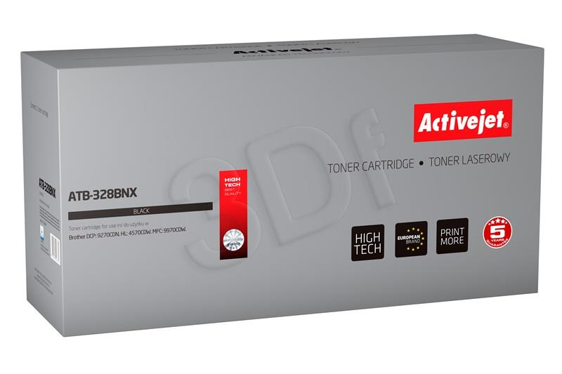 ActiveJet Toner Cartridge for Brother TN-328Bk new ATB-328BNX black