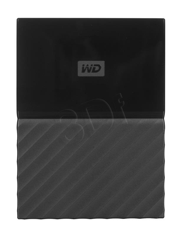 WD My Passport 2.5'' 1TB USB 3.0 Black Ārējais cietais disks