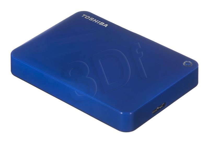 "Toshiba Canvio Connect II  2.5""; 2TB USB 3.0 Blue Ārējais cietais disks"