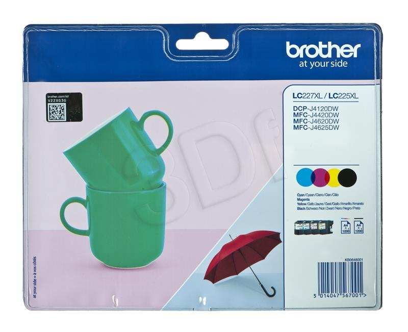 Brother LC 227 XL [Multi Pack]