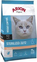 ARION PETFOOD Original Sterilized Salmon 2kg kaķu barība
