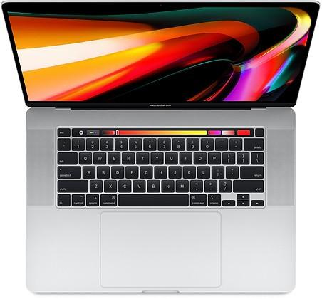 MacBook Pro 16'' TB Core i7 2.6GHz 16GB 512SSD Radeon Pro 5300M 4GB Silver Portatīvais dators