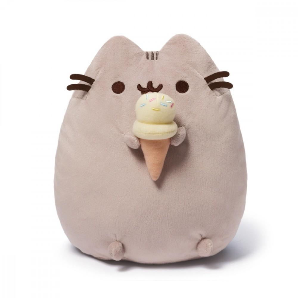 Gund PUSHEEN Ice Cream 10,5 in
