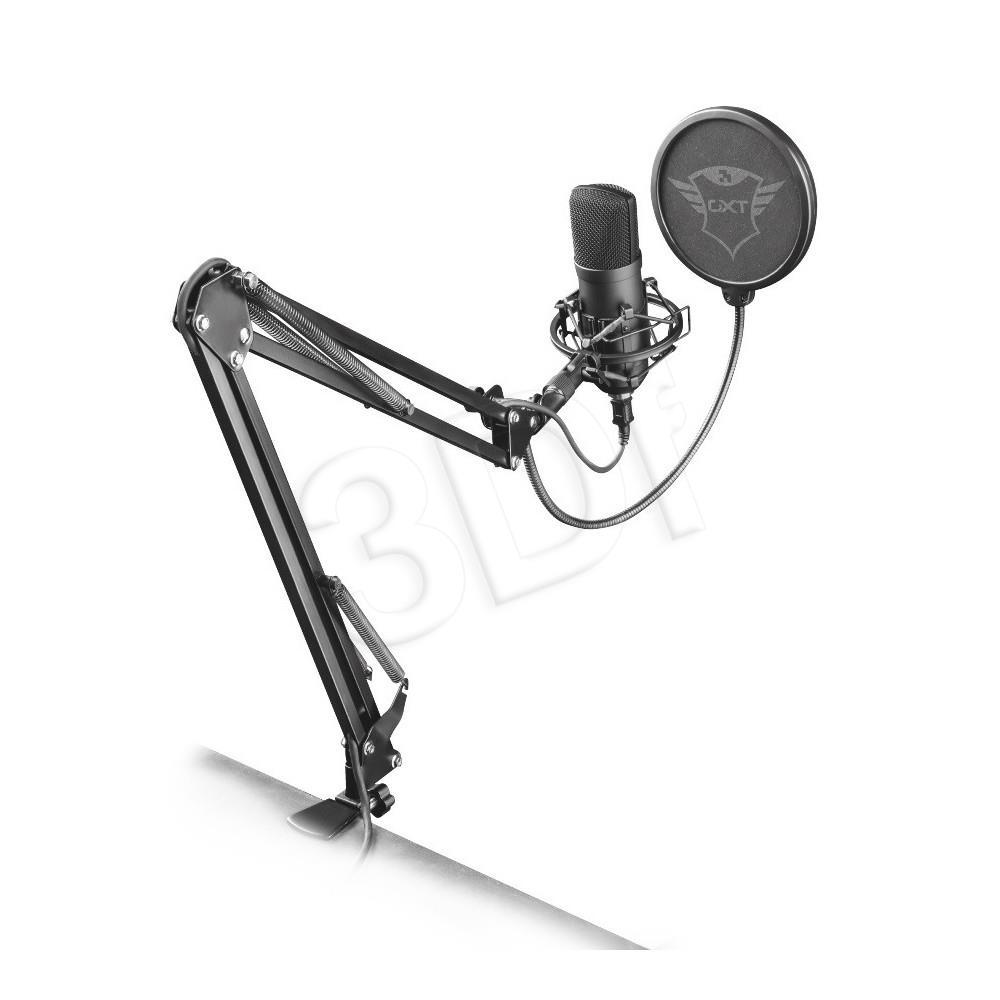 Trust GXT 252 + Emita Plus Streaming Mikrofons