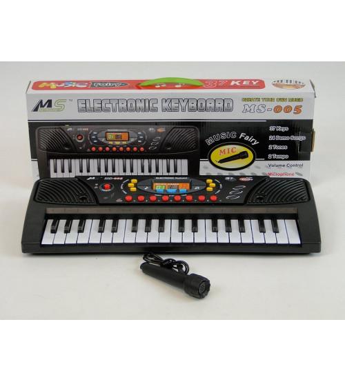 Adar Bērnu sintezators  37 mini taustiņi ar mikrof. (baterijas) 42 cm 179400 mūzikas instruments