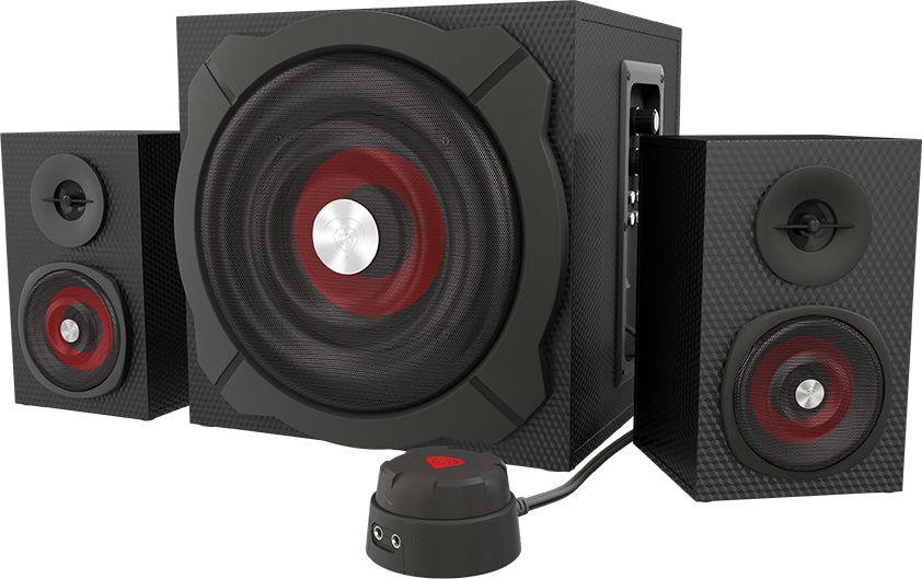 Natec Genesis HELIUM 600 computer speakers 2.1, 60W RMS (wired remote control) datoru skaļruņi
