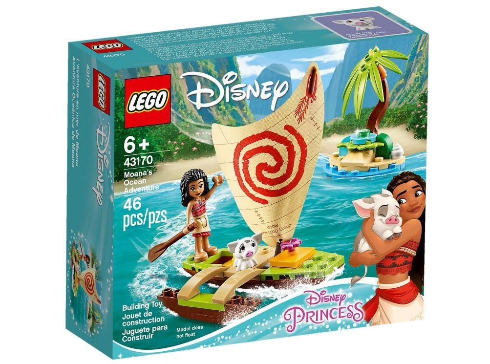 LEGO Disney Princess Moanas Ocean Adventure LEGO konstruktors