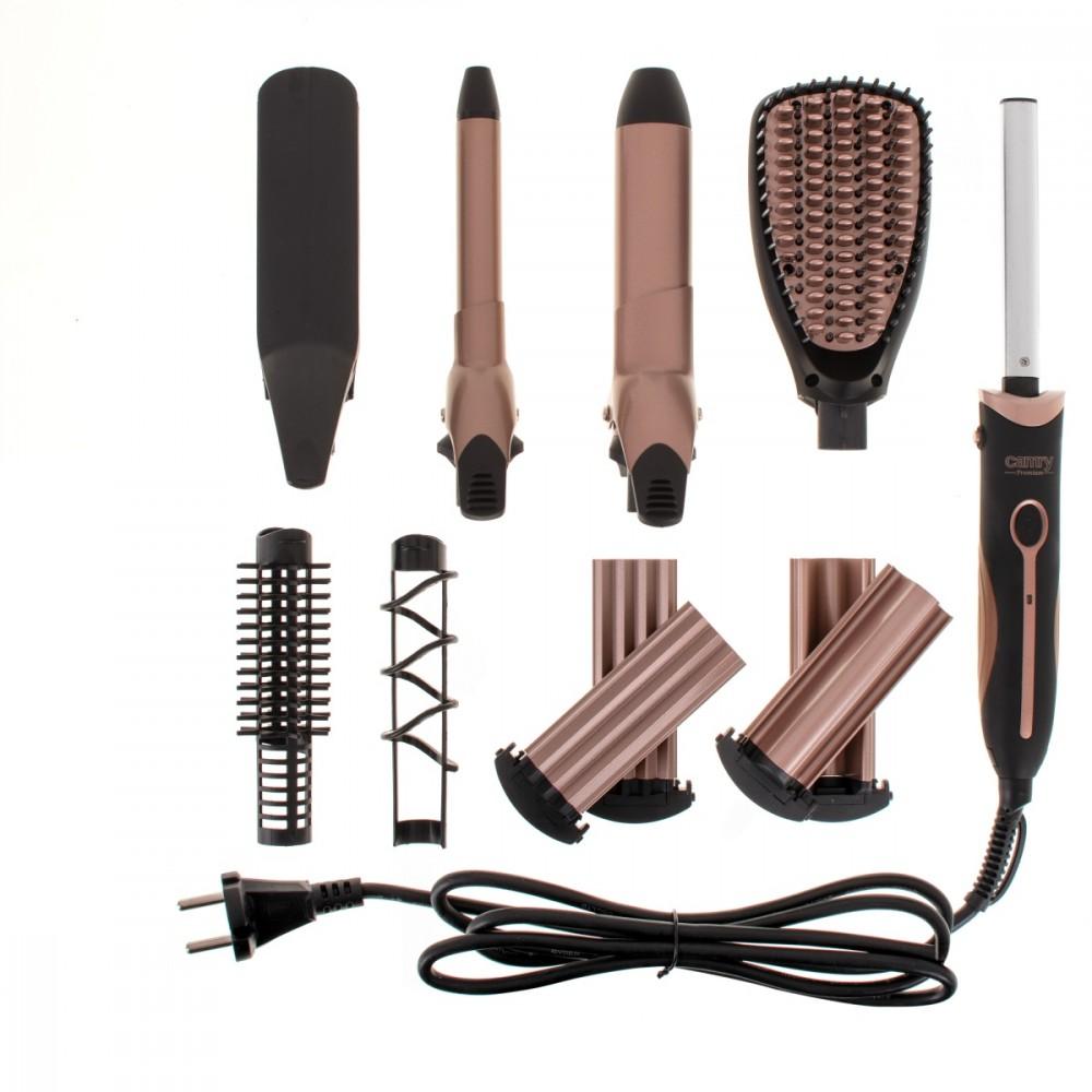 Camry Hair Styler CR 2024 1200 W, Black/Rose gold Matu veidotājs