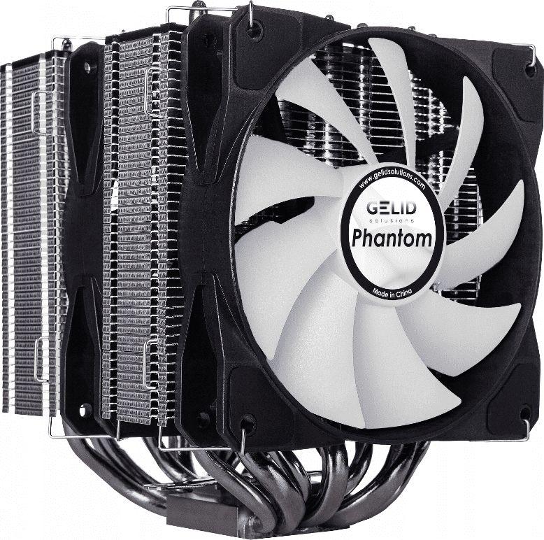 Gelid Phantom CC-Phantom-01-A procesora dzesētājs, ventilators