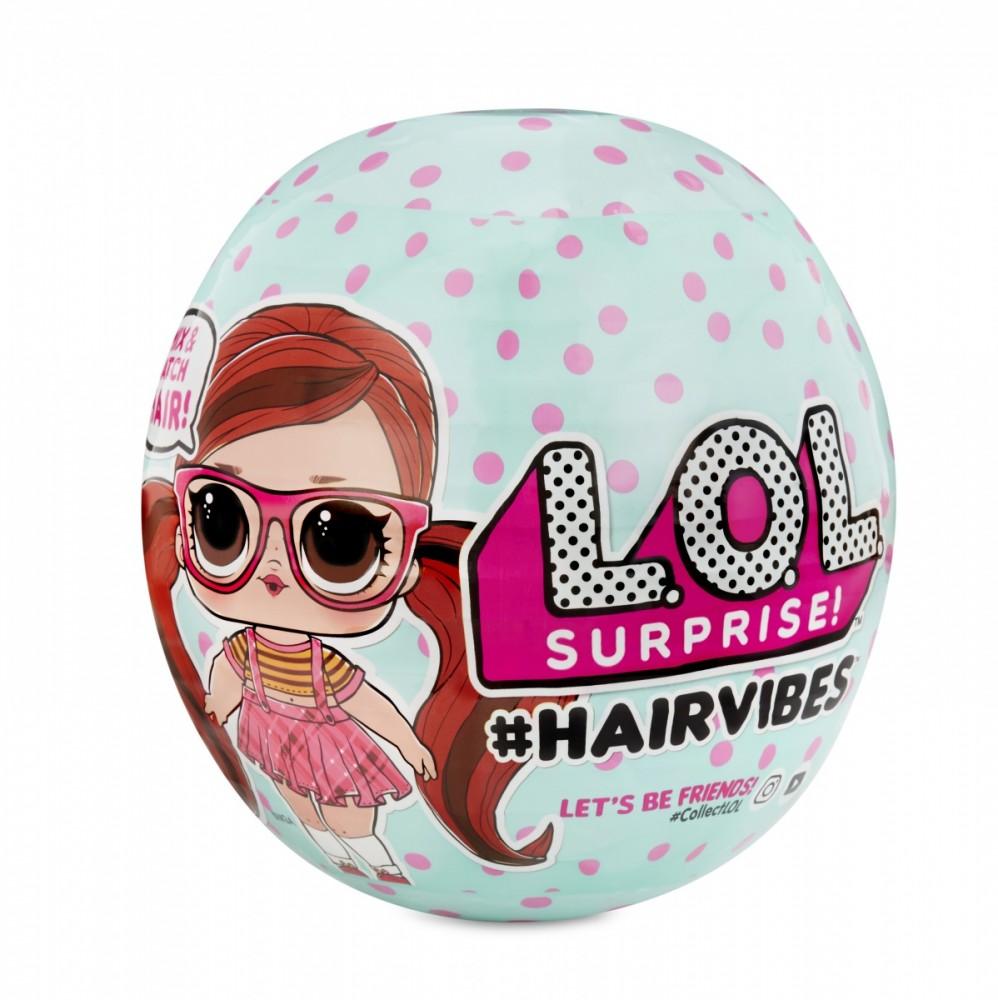 MGA LOL L.O.L. Hairvibes 1 pcb bērnu rotaļlieta