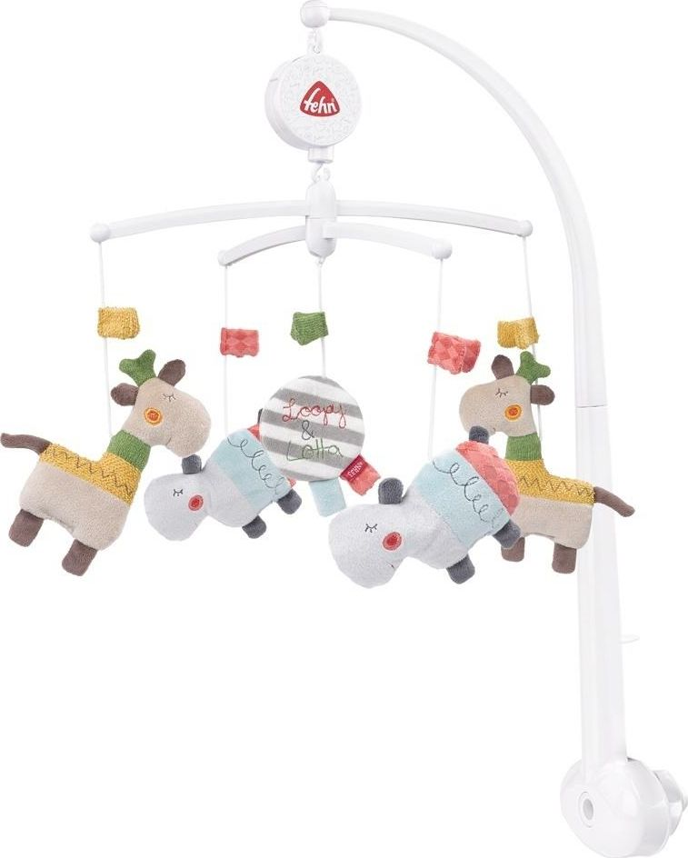 Fehn Carousel with Loopy and Lotta music box white
