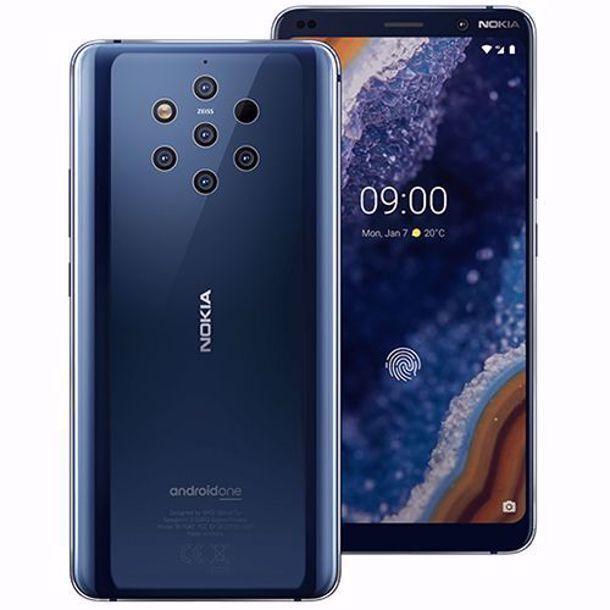 Nokia 9 Blue Mobilais Telefons
