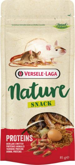 VERSELE-LAGA Versele-Laga Nature Snack Proteins - Supplementary food for rodents with a high protein content, op. 85g universal grauzējiem