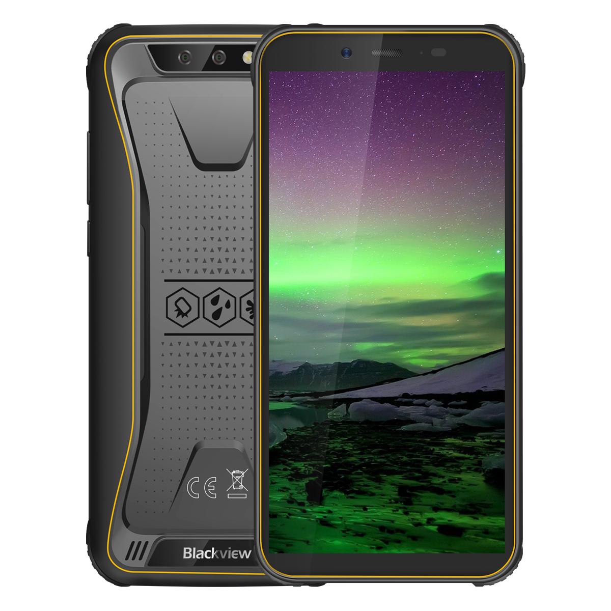 Blackview BV5500 Dual SIM 16GB yellow 3521 Mobilais Telefons