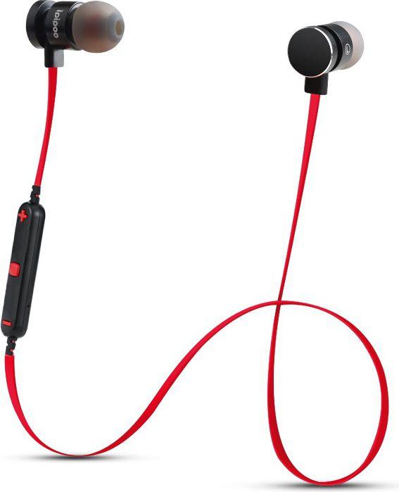 iL93BL Black Red by AWEI In-Ear Wireless Bluetooth Headset 4.2 austiņas