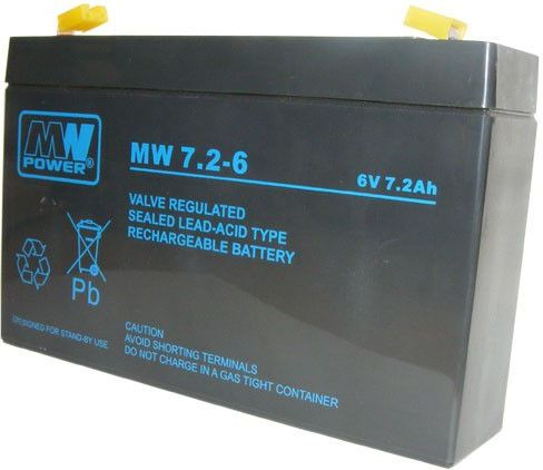 MN POWER Pb 6V 7,2Ah (MN/6V-7.2AH)