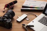 KINGSTON Nucleum 7 ports USB-C HUB USB centrmezgli