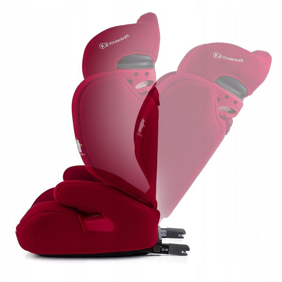 Car seat XPAND 15-36kg ISOFIX red auto bērnu sēdeklītis