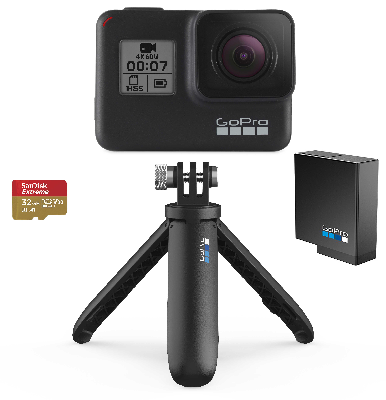 GoPro Hero7 Black Holiday Bundle 2019 818279024333 Digitālā kamera